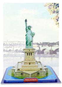 568系列 568-B 自由女神像 建筑立体拼图
