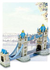 568系列 568-F 伦敦塔桥 建筑立体拼图