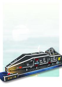 589系列  589-V诺亚方舟 帆船立体拼图