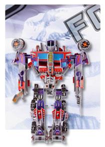 566系列 566-A 擎天柱 机器人立体拼图