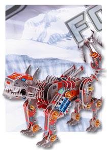 566系列 566-E机器狗 机器人立体拼图