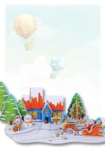 589系列 589-S 圣诞老人 3D立体拼图