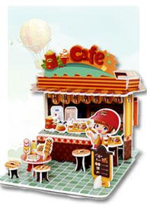 BM系列 BM-257咖啡店 商店立体拼图