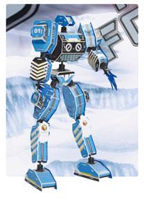 军神系列-1 机器人 3d立体拼图