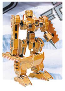 装甲神系列1 机器人立体拼图