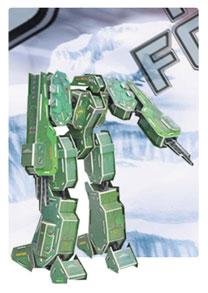 装甲神系列2  机器人立体拼图