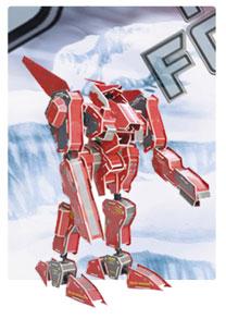 装甲神系列3  机器人立体拼图