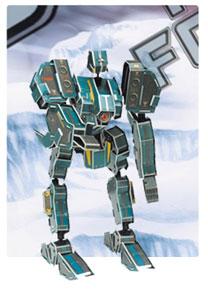 装甲神系列4  机器人立体拼图