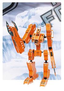 装甲神系列5  机器人立体拼图