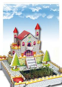 亲子乐园系列  石头城的绿洲 可种植立体拼图