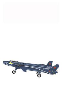 589系列 589-Q J-20隐形战机 立体拼图