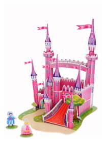 589系列 589F ― 粉色城堡 3d立体拼图