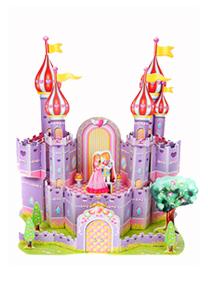 589系列 589H ― 紫色城堡 3d立体拼图
