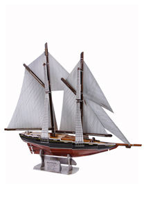 G268系列 -17 ― 布鲁诺斯船3d立体拼图