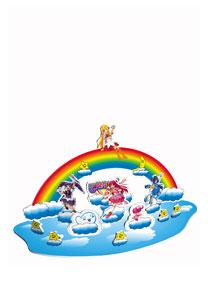芭拉拉系列 - 彩虹天空 3D立体拼图