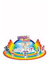 芭拉拉系列 - 彩虹舞台 3D立体拼图