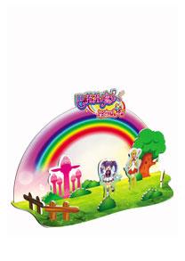芭拉拉系列 - 彩虹园 3D立体拼图