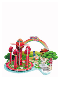 芭拉拉系列 - 魔仙堡 3D立体拼图