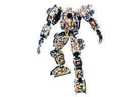 军神系列-3 机器人 3d立体拼图