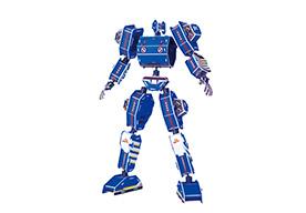 A-001蓝色军神 金刚拼图