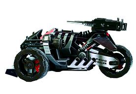 T-001未来战车 黑金刚拼图