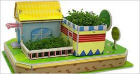 健康之             家种植立体拼图玩具