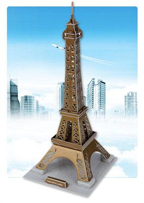 埃菲尔铁塔 建筑立体拼图